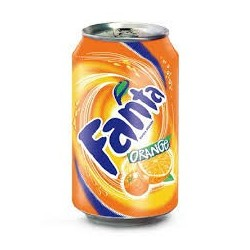 Fanta orange canette 33cl