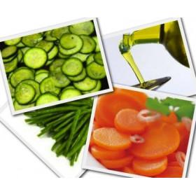 Assortiment de légumes vapeur