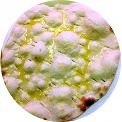 White pizza - Focache
