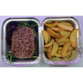 Steack haché + potatoes