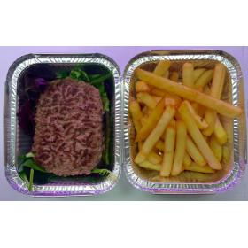 Steack haché + frites