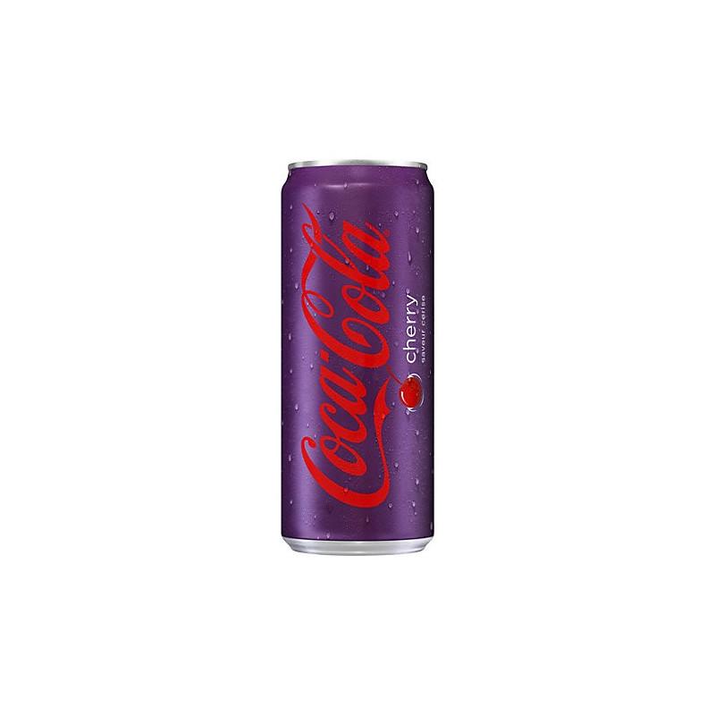 Coca-Cola Cherry can 33cl
