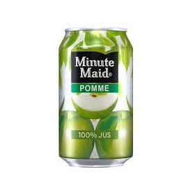 Apple juice can 33cl