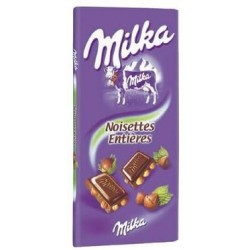 Milka Milk Chocolate 100g