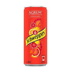 Schweppes Agrumes canette 33cl