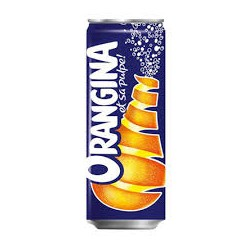 Orangina can 33cl