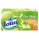 Mouchoir boîte Pur Blanc x 90 Lotus