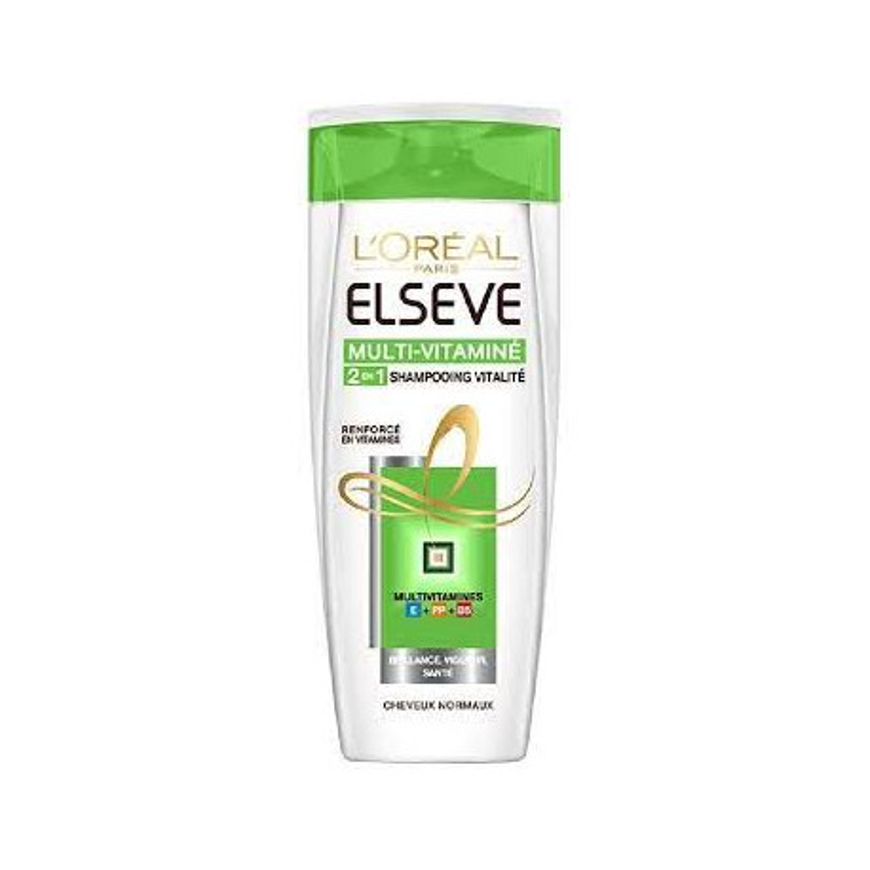 Shampoing Elseve 2 en 1 250 ml